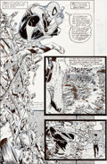 Original Comic Art:Panel Pages, Todd McFarlane Amazing Spider-Man #316 Page 5 Original Art(Marvel, 1989)....