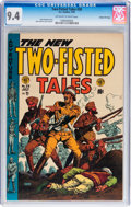 Golden Age (1938-1955):War, Two-Fisted Tales #38 Gaines File pedigree 8/12 (EC, 1954) CGC NM9.4 Off-white to white pages....