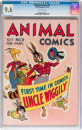 Golden Age (1938-1955):Funny Animal, Animal Comics #2 (Dell, 1943) CGC NM+ 9.6 Off-white pages....