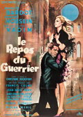 "Movie Posters:Romance, Love on a Pillow (Cocinor, 1963). French Grande (47"" X 63"") Gilbert Allard Art.. ..."