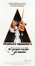 "Movie Posters:Science Fiction, A Clockwork Orange (Warner Brothers, 1971). Three Sheet (40.5"" X76.5"") X-Rated Style.. ..."