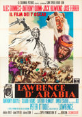 "Movie Posters:Academy Award Winners, Lawrence of Arabia (Columbia, 1962). Italian 4 - Foglio (55"" X 78"")Style B, Angelo Cesselon Art.. .. ..."