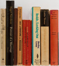Books:Biography & Memoir, [Literary Memoir]. Cecil Beaton, Nigel Nicolson, and Others. Group of Eight Books, Six First Edition, First Printing. Variou... (Total: 8 Items)