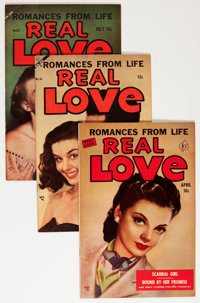 Real Love Group (Ace Periodicals, 1952-56) Condition: Average VF/NM.... (Total: 6 Comic Books)