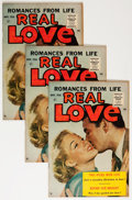 Silver Age (1956-1969):Romance, Real Love #76 Group (Ace Periodicals, 1956) Condition: AverageVF.... (Total: 10 Comic Books)
