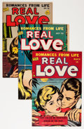 Golden Age (1938-1955):Romance, Real Love Group (Ace Periodicals, 1950-56) Condition: AverageFN.... (Total: 23 Comic Books)
