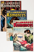 Golden Age (1938-1955):Romance, Glamorous Romances Group (Ace, 1949-56) Condition: Average VF....(Total: 24 Comic Books)