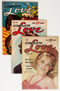 Golden Age (1938-1955):Romance, Complete Love Magazine Group (Ace, 1951-56) Condition: AverageFN.... (Total: 16 Comic Books)