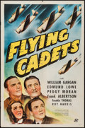 "Movie Posters:Adventure, Flying Cadets (Universal, 1941). One Sheet (27"" X 41""). Adventure....."