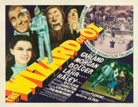 "The Wizard of Oz (MGM, 1939). Half Sheet (22"" X 28"") Style A and Partial Pressbook (28 Pages + Covers, 16""..."
