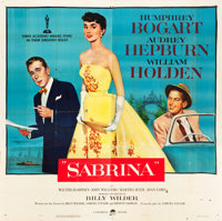 """Sabrina (Paramount, 1954). Six Sheet (79.5"""" X 80.5""""). From the collection of GLG"""