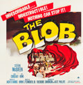 """Movie Posters:Science Fiction, The Blob (Paramount, 1958). Six Sheet (78.5"""" X 81"""").. ..."""