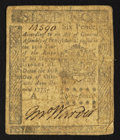 Colonial Notes:Pennsylvania, Pennsylvania October 25, 1775 6d Fine.. ...