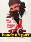 """Movie Posters:Foreign, Bande à Part (Columbia, 1964). French Grande (47"""" X 63"""").. ..."""