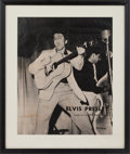 Music Memorabilia:Posters, Elvis Presley Record Store Promotional Poster (RCA, 1956)...