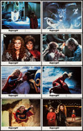 "Movie Posters:Adventure, Supergirl (Tri-Star, 1984). Lobby Card Set of 8 (11"" X 14"").Adventure.. ..."