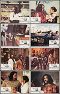 "Movie Posters:Blaxploitation, Super Fly T.N.T. (Paramount, 1973). Lobby Card Set of 8 (11"" X14""). Blaxploitation.. ... (Total: 8 Items)"