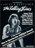 "Movie Posters:Rock and Roll, Ladies and Gentlemen: The Rolling Stones (Dragon Aire, 1973).Trimmed Window Card (14"" X 19.5"") Surround Sound Style. Rock a..."