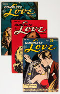 Golden Age (1938-1955):Romance, Complete Love Magazine Group (Ace, 1952-55) Condition: AverageVG-.... (Total: 17 Comic Books)