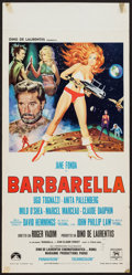 "Movie Posters:Science Fiction, Barbarella (Paramount, 1968). Italian Locandina (13"" X 27.5"").Science Fiction.. ..."