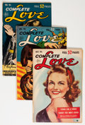 Golden Age (1938-1955):Romance, Complete Love Magazine Group (Ace, 1952-56) Condition: Average GD+.... (Total: 35 Comic Books)