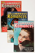 Golden Age (1938-1955):Romance, Glamorous Romances Group (Ace, 1950-56) Condition: Average FN....(Total: 10 Comic Books)