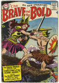 Silver Age (1956-1969):Adventure, The Brave and the Bold #19 (DC, 1958) Condition: GD+....