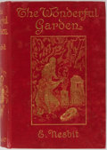 Books:Children's Books, E. Nesbit. The Wonderful Garden. Macmillan and Co., 1912. Publisher's binding with gilt on cover and fore edge. Offs...