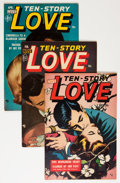 Golden Age (1938-1955):Romance, Ten Story Love Group (Ace, 1952-56) Condition: Average FN....(Total: 13 Comic Books)