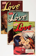 Golden Age (1938-1955):Romance, Love Experiences Group (Ace, 1950-56) Condition: Average VF....(Total: 10 Comic Books)