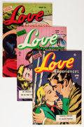 Golden Age (1938-1955):Romance, Love Experiences Group (Ace, 1951-56) Condition: Average FN....(Total: 25 Comic Books)