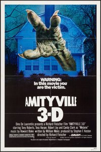 """Amityville 3-D (Orion, 1983). One Sheet (27"""" X 41""""). Horror"""