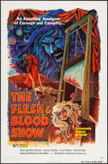 """Movie Posters:Horror, The Flesh and Blood Show (EVI, 1973). One Sheet (27"""" X 41""""). Horror.. ..."""