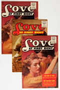 Golden Age (1938-1955):Romance, Love at First Sight #42 and 43 Group (Ace, 1956) Condition: AverageVF/NM.... (Total: 4 Comic Books)