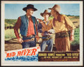 """Movie Posters:Western, Red River (United Artists, 1948). Lobby Card (11"""" X 14""""). Western.. ..."""