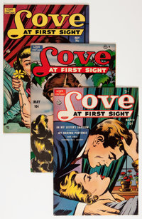Love at First Sight Group (Ace, 1950-56) Condition: Average VF.... (Total: 15 Comic Books)