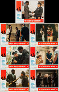 """Movie Posters:Academy Award Winners, In the Heat of the Night (United Artists, 1967). Lobby Cards (7) (11"""" X 14""""). Academy Award Winners.. ... (Total: 7 Items)"""