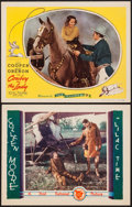 "Movie Posters:War, Lilac Time & Other Lot (First National, 1928). Lobby Cards (2)(11"" X 14""). War.. ... (Total: 2 Items)"