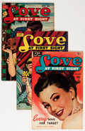 Golden Age (1938-1955):Romance, Love at First Sight Group (Ace, 1950-56) Condition: Average FN....(Total: 23 Comic Books)