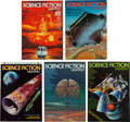 Magazines:Science-Fiction, Science Fiction Monthly Group (New English Library, 1974-76)Condition: Average FN/VF.... (Total: 10 Comic Books)
