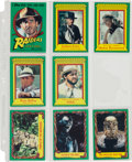 Memorabilia:Trading Cards, Raiders of the Lost Ark Trading Card Set (Topps, 1981)....