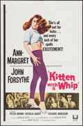"Movie Posters:Bad Girl, Kitten with a Whip (Universal, 1964). One Sheet (27"" X 41"") &Lobby Card (11"" X 14""). Bad Girl.. ... (Total: 2 Items)"