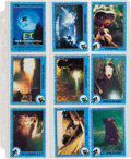 Memorabilia:Trading Cards, E.T. The Extraterrestrial Trading Cards and Stickers Set(Topps, 1982)....