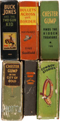 Big Little Book:Miscellaneous, Big Little Book Western Related Group (Whitman, 1930s-40s)Condition: Average VG-.... (Total: 6 Comic Books)