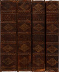 Books:Literature Pre-1900, Ben Jonson. The Dramatic Works of Ben Jonson and Beaumont andFletcher. Four Volumes. John Stockdale, 1811. Hing... (Total: 4Items)