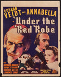"Movie Posters:Adventure, Under the Red Robe (20th Century Fox, 1937). Trimmed Window Card(14"" X 18""). Adventure.. ..."