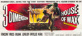 """Movie Posters:Horror, House of Wax (Warner Brothers, 1953). 24 Sheet (104"""" X 232"""").. ..."""