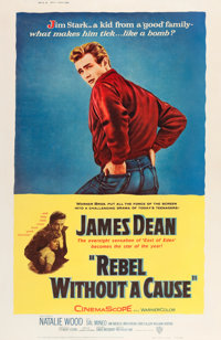 "Rebel without a Cause (Warner Brothers, 1955). Poster (40"" X 60"") Style Z"