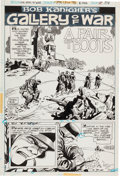 """Original Comic Art:Complete Story, Ric Estrada Our Army at War #294 Complete 5-Page """"BobKanigher Gallery of War"""" Story """"A Pair of Boots"""" Original Ar...(Total: 5 Original Art)"""