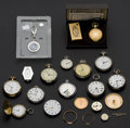 Timepieces:Other , Fourteen Plus Watch Lot. ... (Total: 14 Items)